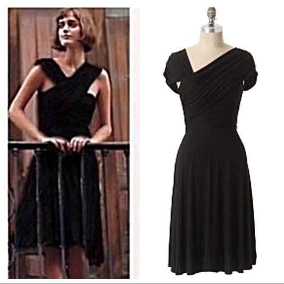 5cb55e34ae21 Anthropologie Dresses & Skirts - Anthropologie Tracy Reese Black Dreamy Drape  Dress